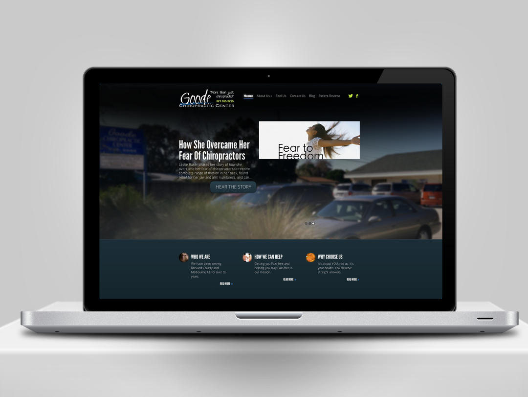Goode Chiropractic Website